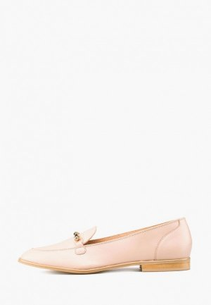 Лоферы Giotto. Цвет: розовый