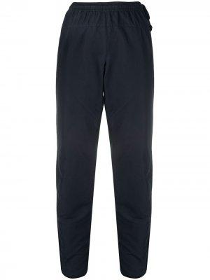 Спортивные брюки 1990-х годов с контрастными полосками Dries Van Noten Pre-Owned. Цвет: синий