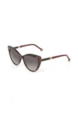 Очки солнцезащитные Enni Marco. Цвет: черный, розовый