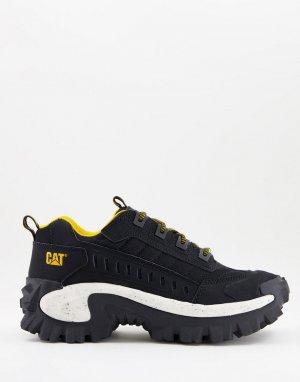 Черно-белые кроссовки Caterpillar Intruder-Черный цвет