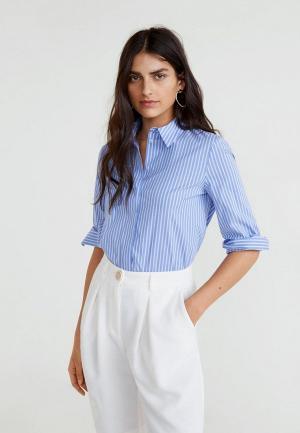 Рубашка Mango - ALMOND. Цвет: синий
