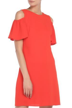 Платье Explosion. Цвет: красный