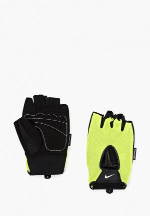 Перчатки для фитнеса Nike MENS FUNDAMENTAL TRAINING GLOVES. Цвет: желтый