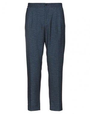 Повседневные брюки EXTE. Цвет: грифельно-синий