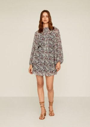 DRESS - Dalmira Mango. Цвет: грязно-белый