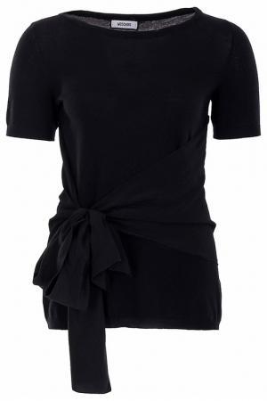 Пуловер Moschino. Цвет: черный