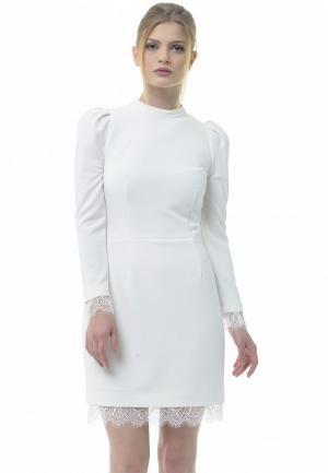 Платье Arefeva. Цвет: белый