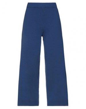 Повседневные брюки GUARDAROBA by ANIYE. Цвет: синий