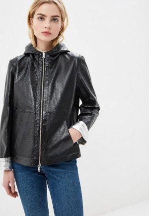 Куртка кожаная Madeleine. Цвет: разноцветный
