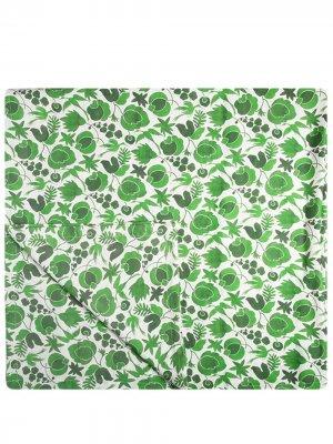 Скатерть с принтом Wildbird La Doublej. Цвет: зеленый