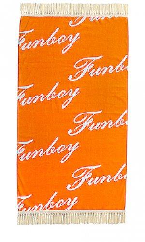 Полотенце villa FUNBOY. Цвет: оранжевый