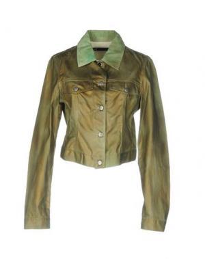 Куртка ANDREW MACKENZIE. Цвет: зеленый-милитари