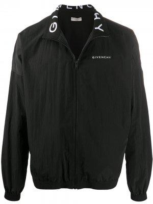 Ветровка с логотипом Givenchy. Цвет: черный