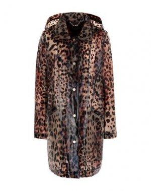 Легкое пальто DONNA KARAN. Цвет: коричневый