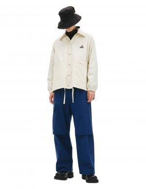 Хлопковая ветровка с карманами Jil Sander