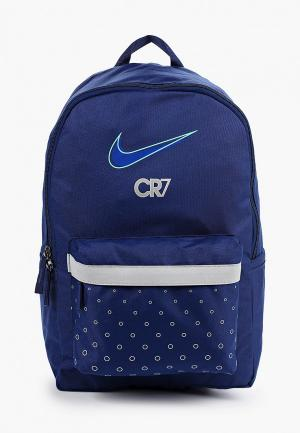 Рюкзак Nike CR7 Kids Soccer Backpack. Цвет: синий