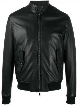 Zipped-up bomber jacket Tagliatore. Цвет: черный