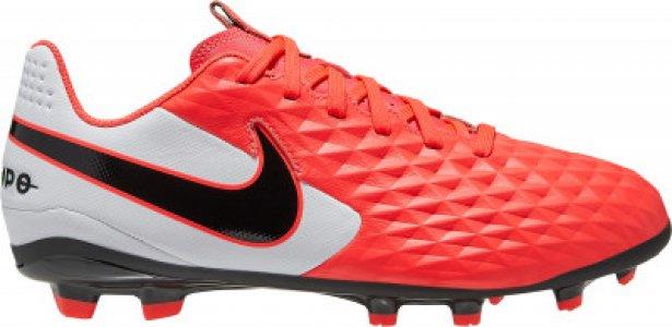 Бутсы для мальчиков Legend 8 Club Fg/Mg, размер 34.5 Nike. Цвет: красный