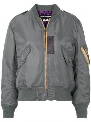 Куртка бомбер на молнии Junya Watanabe Comme Des Garçons. Цвет: зелёный