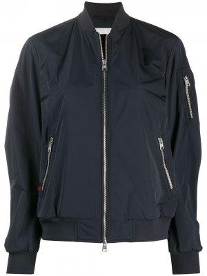 Куртка-бомбер Shore Woolrich. Цвет: синий