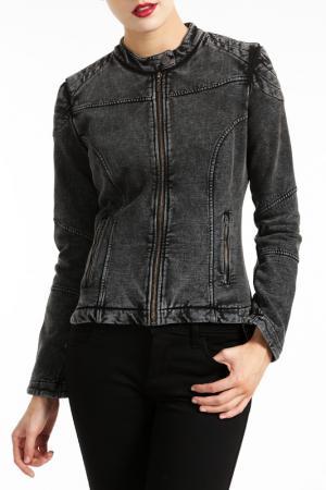 Джинсовая куртка Fornarina. Цвет: серый