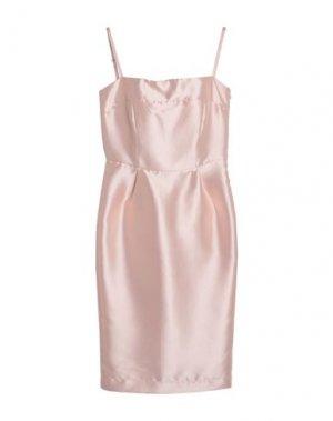 Платье миди DIXIE. Цвет: розовый