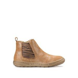 Ботинки LaRedoute. Цвет: каштановый