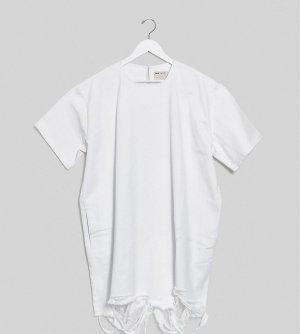 Джинсовое платье-рубашка мини ASOS DESIGN Curve-Белый Curve