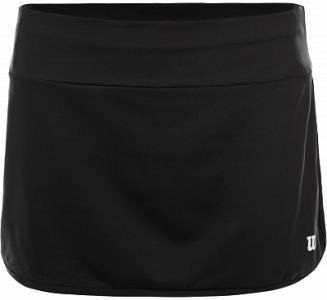 Юбка для девочек Team 11, размер 125-133 Wilson. Цвет: черный