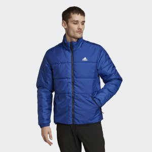 Утепленная куртка BSC 3-Stripes Winter Performance adidas. Цвет: синий