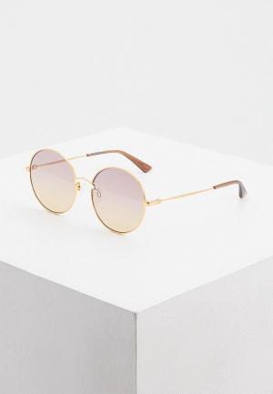Очки солнцезащитные McQ Alexander McQueen MQ0267S 003. Цвет: золотой