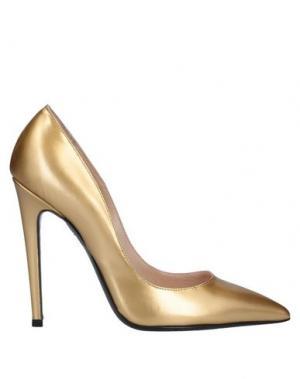 Туфли GIANCARLO PAOLI. Цвет: золотистый