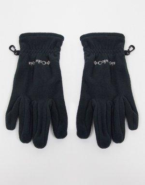 Черный перчатки Fast Trek Columbia