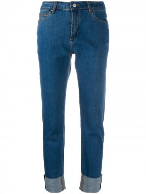Прямые брюки Steffen Schraut. Цвет: синий