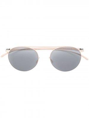 Солнцезащитные очки x Maison Margiela Mykita. Цвет: нейтральные цвета