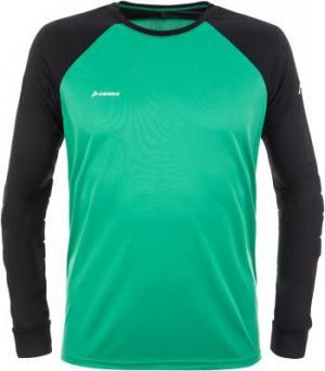 Футболка с длинным рукавом мужская , размер 46 Demix. Цвет: зеленый