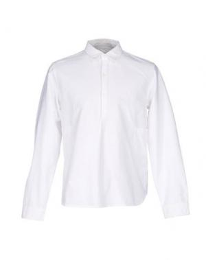 Pубашка GARBSTORE. Цвет: белый