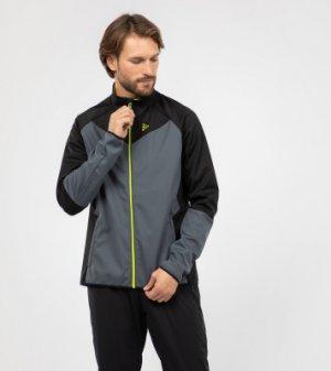 Куртка мужская Pursuit Pace Fuseknit, размер 54-56 Craft. Цвет: серый