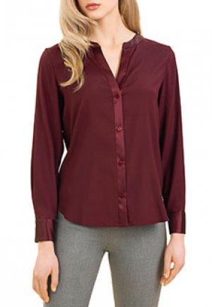 Блуза LUISA SPAGNOLI. Цвет: бордовый