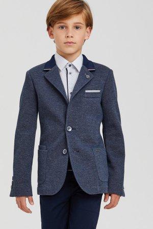 Пиджак Silver Spoon. Цвет: синий