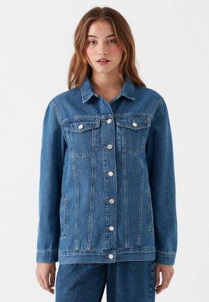 Куртка джинсовая Mavi JILL. Цвет: синий