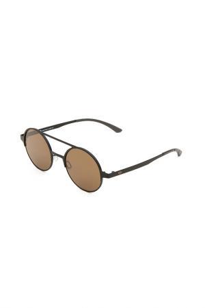 Очки солнцезащитные с линзами adidas. Цвет: 009 000 черный матовый