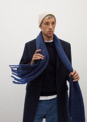 Мягкий шарф - Suecia Mango. Цвет: темно-синий