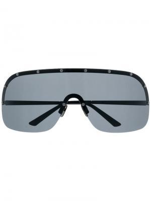 Солнцезащитные очки Avvocato Laps Collection Italia Independent. Цвет: черный