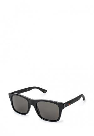Очки солнцезащитные Gucci GG0008S002. Цвет: черный