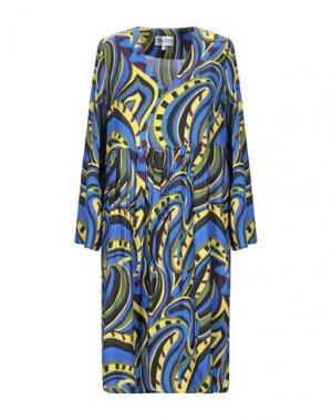 Короткое платье BINI Como. Цвет: ярко-синий