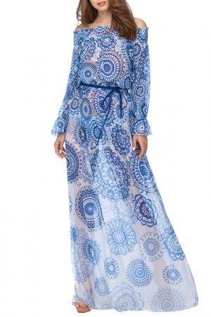 Платье пляжное Charmante. Цвет: мультиколор