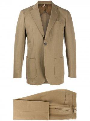 Delloglio костюм с однобортным пиджаком Dell'oglio. Цвет: нейтральные цвета