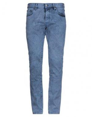 Джинсовые брюки JUST CAVALLI. Цвет: пастельно-синий