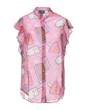 Pубашка DRESS CODE. Цвет: розовый
